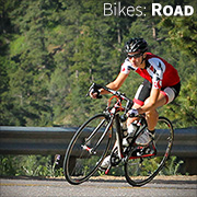 Feel the difference on a new road bicycle!