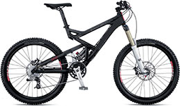 Medium-travel suspension bikes love downhills and uphills!