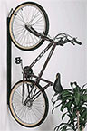 You can easily store your bike with a Saris rack system!