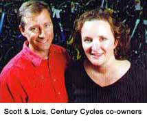Lois and Scott stand up for cyclists' rights