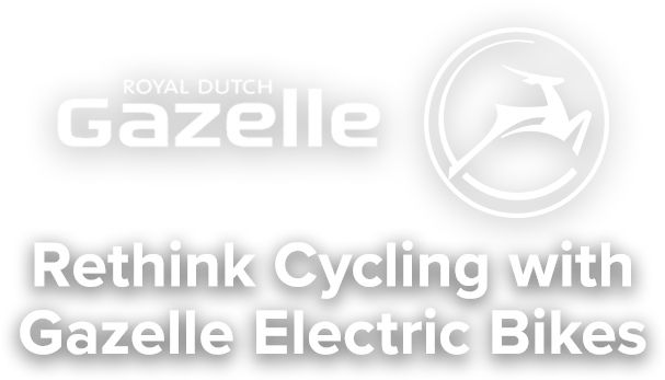 Rethink Cycling with Gazelle Electric Bikes
