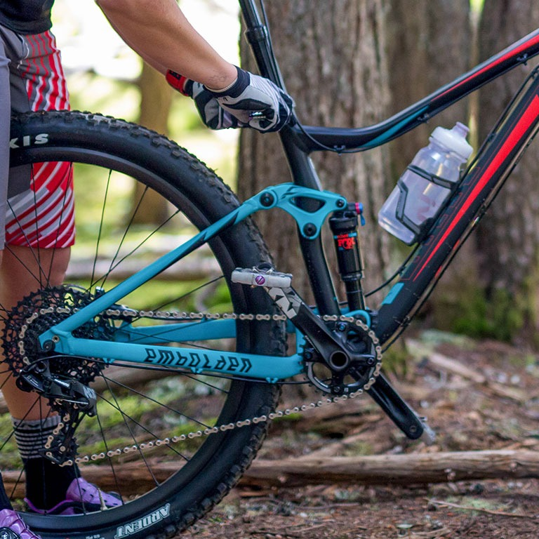 Mountain bike drivetrain