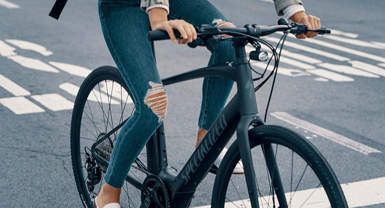 Person on an eBike