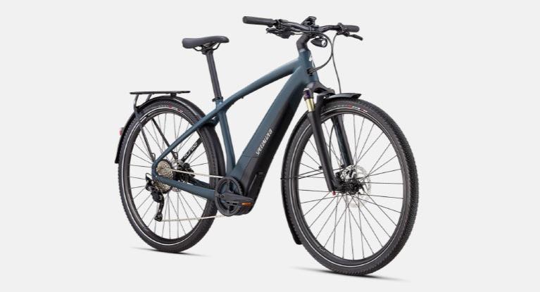 Turbo Vado bike in a Grey color