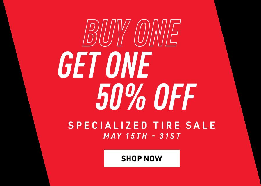 Specialized BOGO Tire Sale