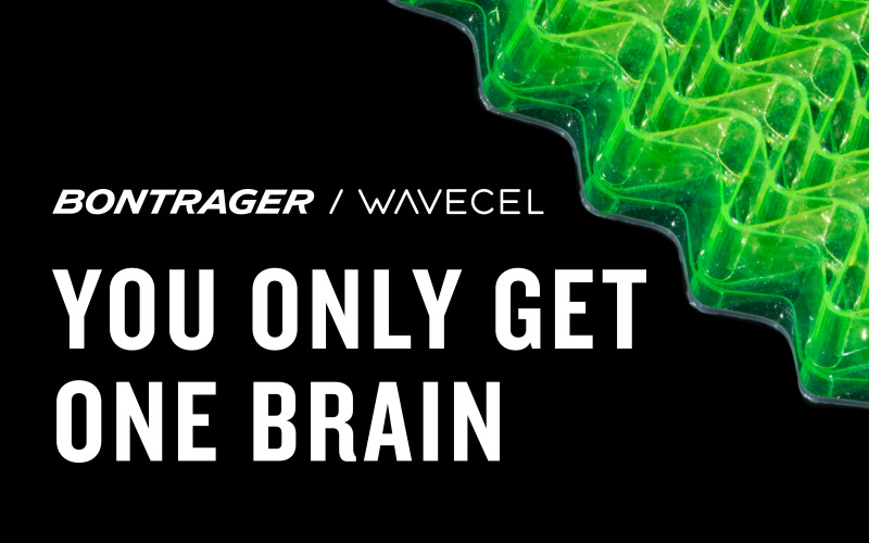 Bontrager Wavecel You Only Get One Brain
