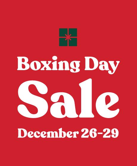 Trek Boxing Day Sale