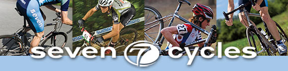 Seven Cyles offers top-notch titanium, carbon and steel bicycles. Test ride at Ride Away Bicycles!
