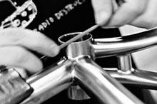 七位自行车以最高标准建造!