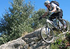 Full suspension bikes excel in rough terrain!
