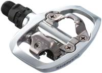 The Shimano PD-A520 pedals are efficient and easy to use!