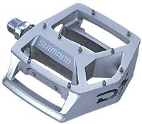 The Shimano MX30 pedals are super tough and grippy!