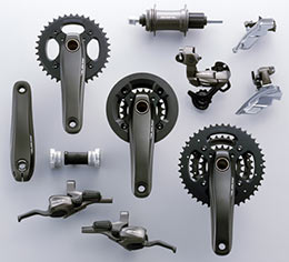 Shimano's Saint components are built tough!