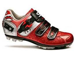Sidi's Women's Dominator 5 Mesh shoes are light and fast!