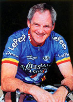 Fred's also a cycling world-record holder