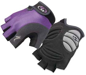 Specialized's Women's BG Gel Gloves offer comfort, ergonomics and a great grip!