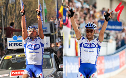 Specialized bicycles won the Tour of Flanders and Paris-Roubaix!