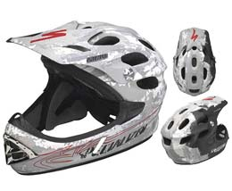 Specialized's Deviant Carbon FF boasts a super-tough ventilated full-carbon shell!