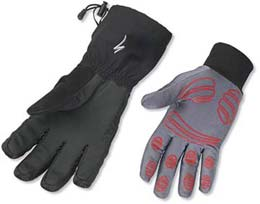 Specialized's Sub Zero Gloves include shells and liners for top-notch warmth!