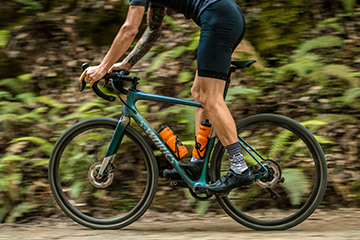 The Specialized Diverge future shock improves handling on all surfaces