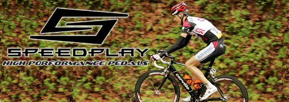 Speedplay pedals are light, strong and easy to use!