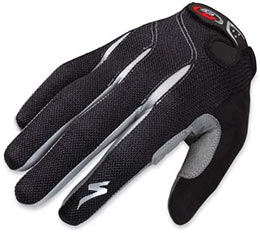 Specialized's BG Gel Full Finger Gloves are warm and comfy!