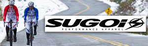We stock a wide selection of Sugoi cycling clothing!
