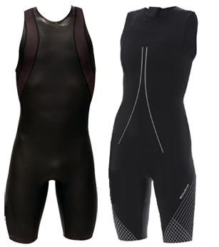 Examples of swimskins.