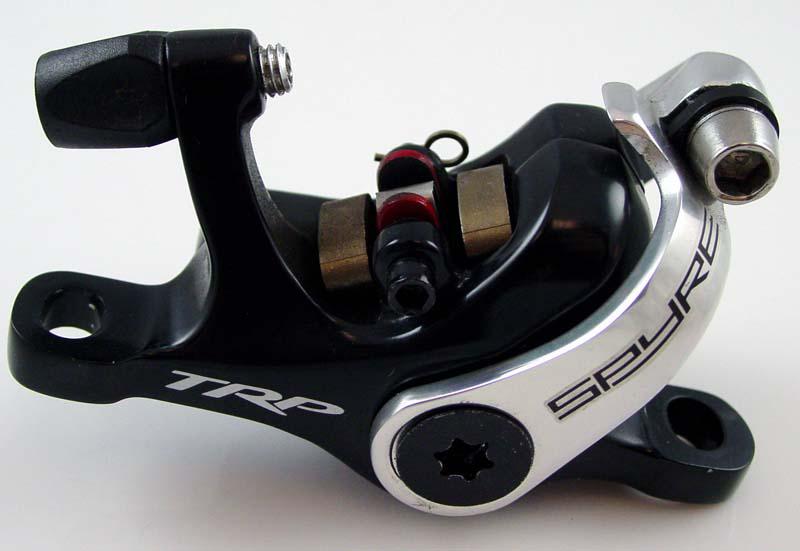 The recalled Spyre mechanical disc brake