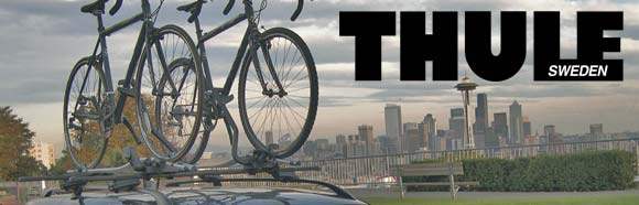 Thule racks let you ride wherever you want!