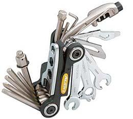 Topeak's Alien II tool is a ride-saver!
