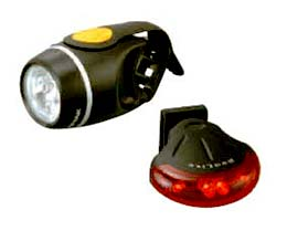 Be visible from both the back and front with Topeak's HighLite Combo!