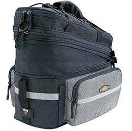 Topeak's MTX Trunk Bag DX carries all your cycling gear!