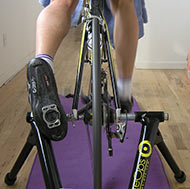 One-legged pedaling will help your spin!