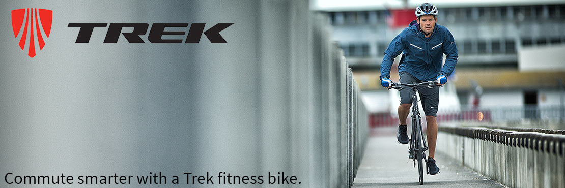 Fast and fun, Trek bicycles are perfect for fitness and commuting.