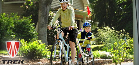 We have Trek bicycles for the whole family!