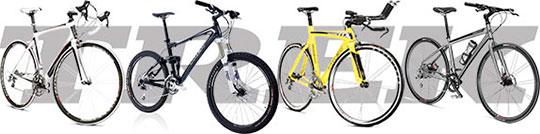We have a wide selection of Trek bicycles!