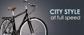 Trek's city bikes are easy-riding and stylish!