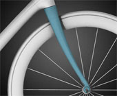 The Trek IsoSpeed fork.