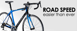 Try our cutting-edge Trek road bikes!