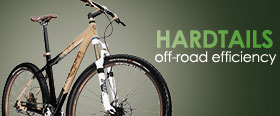 Trek's hardtails are very versatile!