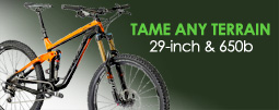 Trek 29er mountain bikes tame the terrain!