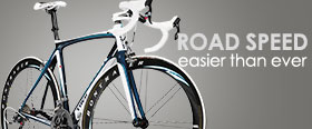 Trek road bikes are light, efficient, fast and fun!