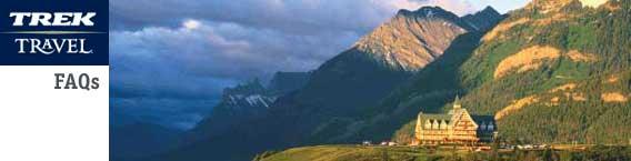 Trek Travel Glacier National Park tour.