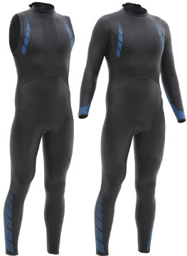 Triathlon wetsuits help with warmth, flotation and speed, too!