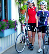 We have stylish WSD cycling gear!