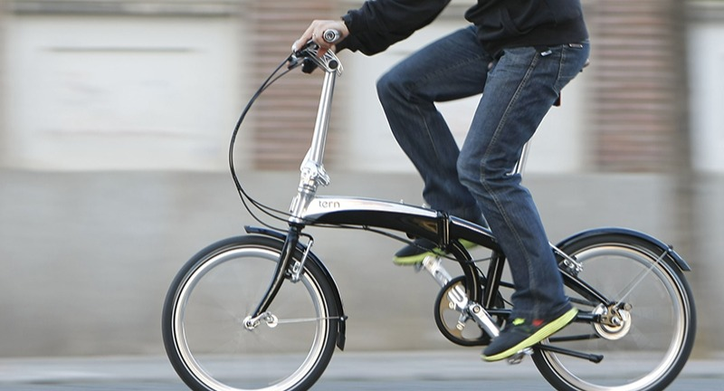 Keep it compact with a folding bike