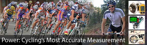Power meters make it easy to train hard!