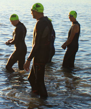 Wetsuits come in different styles.