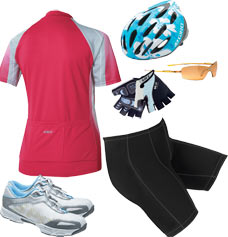 The right cycling accessories keep you comfortable and safe!